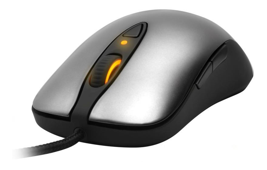 Игровая мышь SteelSeries Sensei Black/Silver (62150)