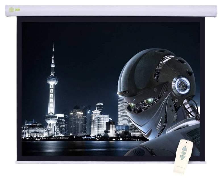 Экран для видеопроектора Cactus Motoscreen CS-PSM-124x221 Белый