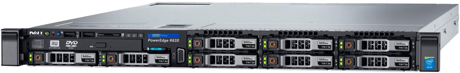 Сервер Dell PowerEdge R630 210-ACXS-151
