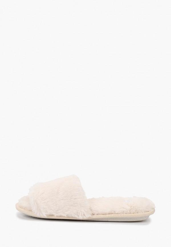 Домашние тапочки женские Halluci Мех белые 36-37 RU