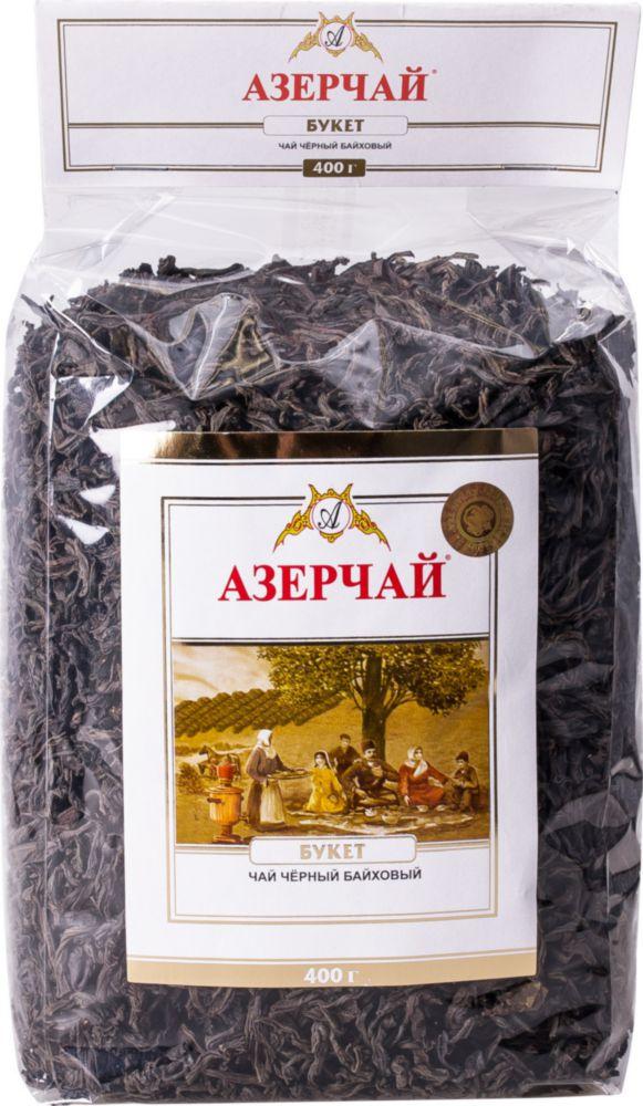 Чай черный Азерчай букет байховый 400 г