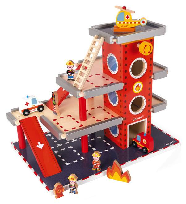 Игровой набор JANOD J05717 Пожарная станция