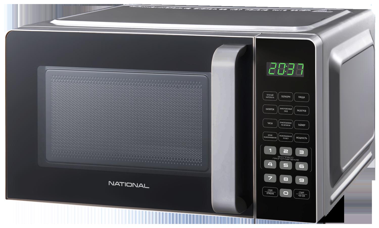 Микроволновая печь соло NATIONAL NK-MW360S20 Silver