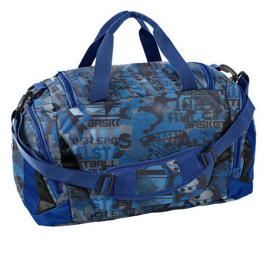 Дорожная сумка Paso Basketball Blue 44 x 23,5 x 23