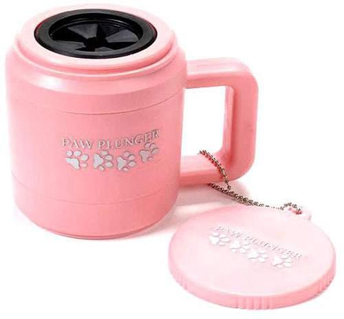 Лапомойка PAW PLUNGER PAW111 малая розовая