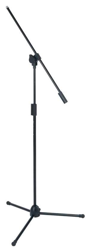 Телескопическая микрофонная стойка на треноге Quik Lok A302 BK