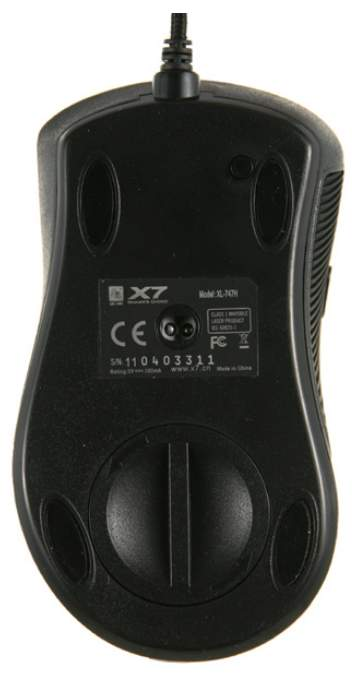 Проводная мышка A4Tech XL-747H Black