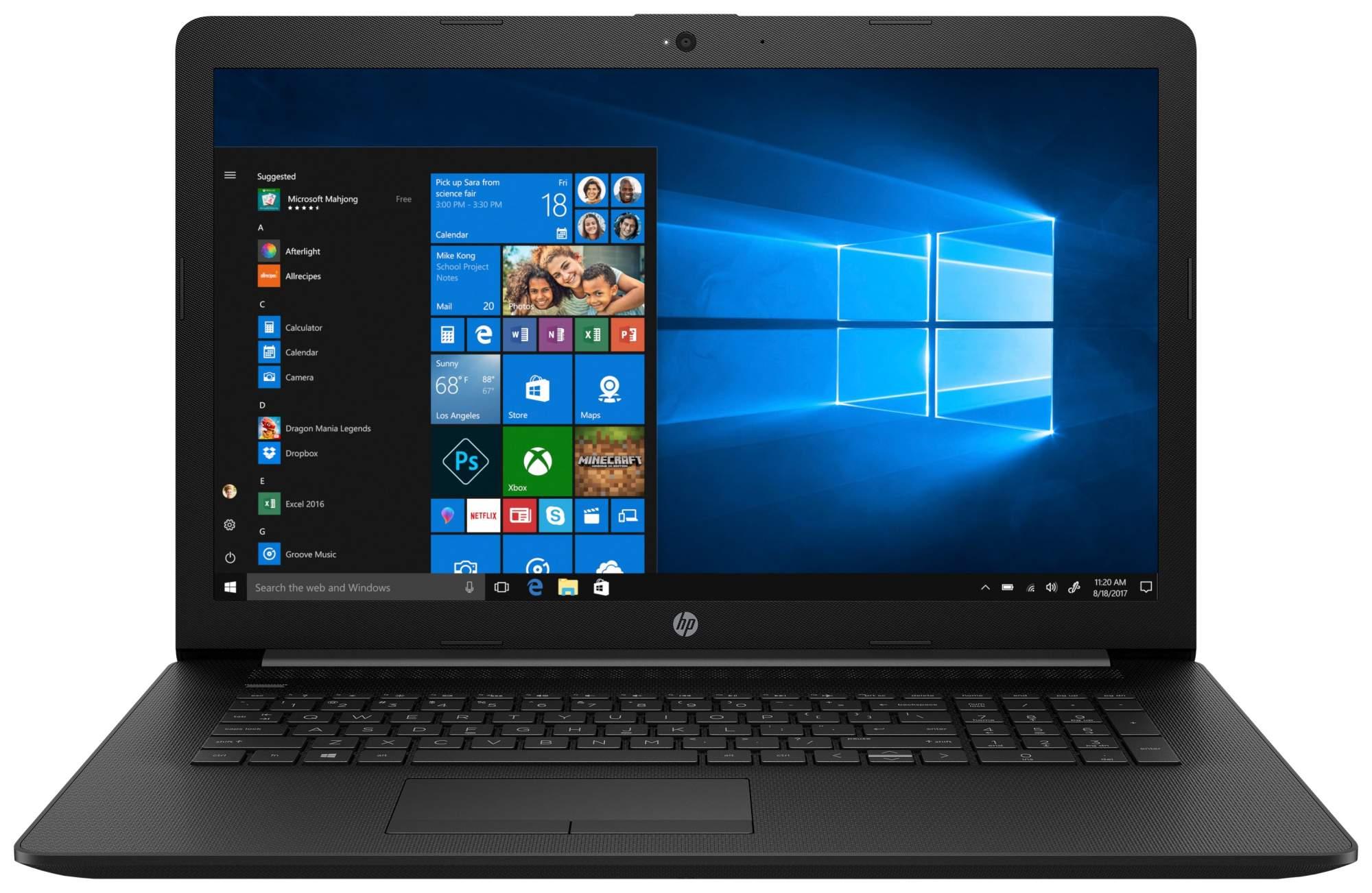 Ноутбук HP Notebook 17-CA0114UR 4RK88EA