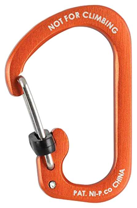 Карабин Nite Ize SlideLock #2 CSLA2-19-R6 Aluminum Orange