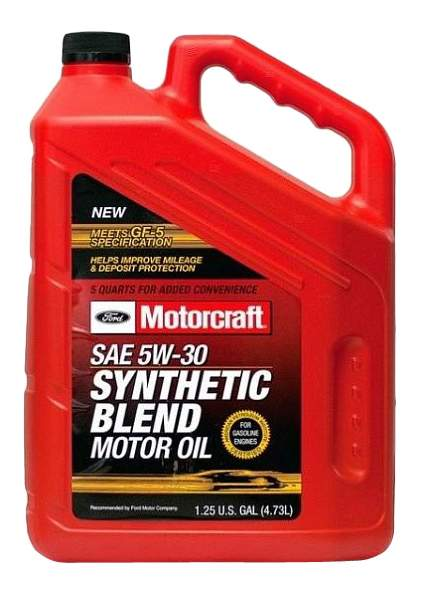 Моторное масло Ford Motorcraft Premium Synthetic Blend 5W-30 4,73л