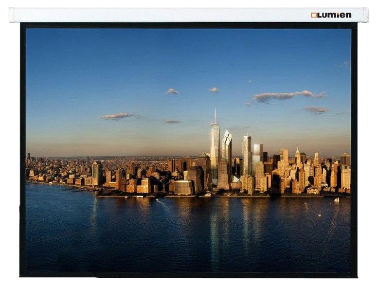 Экран для видеопроектора Lumien LMP-100110 Белый
