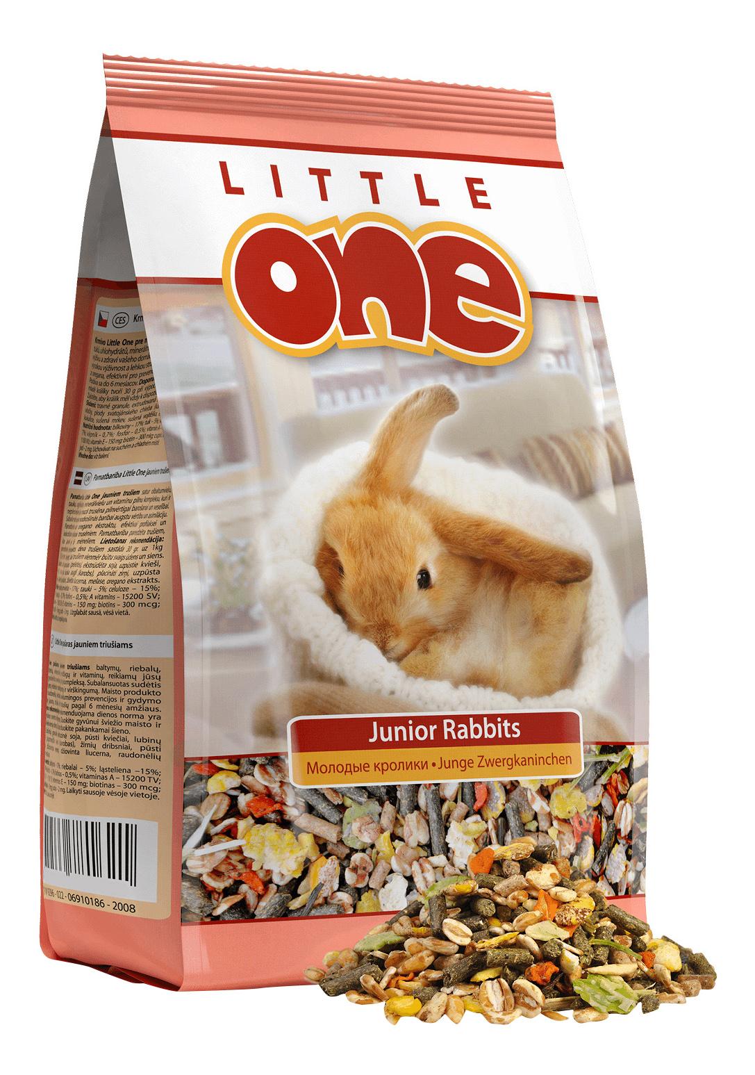 Корм для кроликов Little One Junior Rabbits, для молодых, 900г