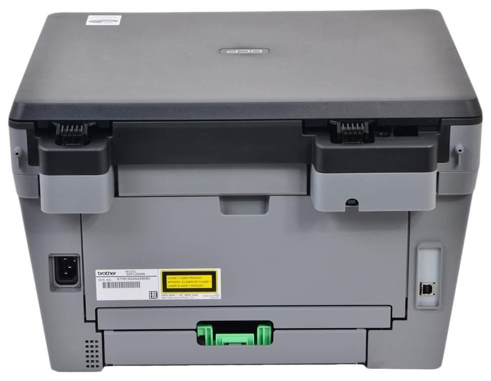 Миниатюра Лазерное МФУ Brother DCP-L2500DR №4