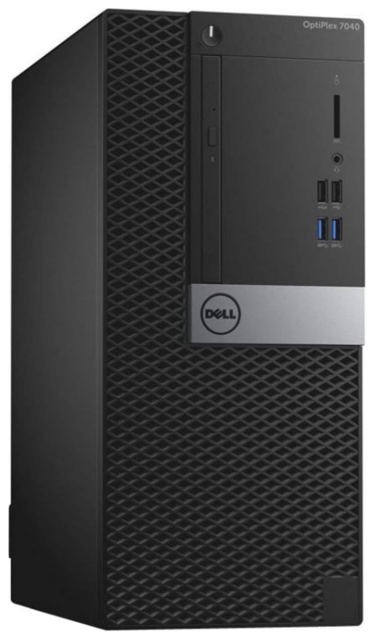 Системный блок Dell Optiplex 7040-0057 MT Intel Core i7, 3400МГц, 8Гб RAM, 1000Гб, Win 7