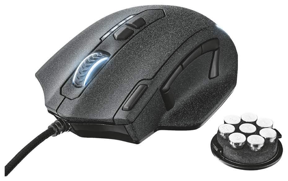 Проводная мышка Trust GXT 155 Caldor Black (20411)