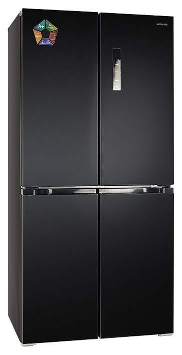 Холодильник Hiberg RFQ-490DX NFB Black