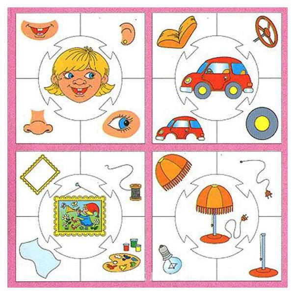 Картинки часть и целое для малышей
