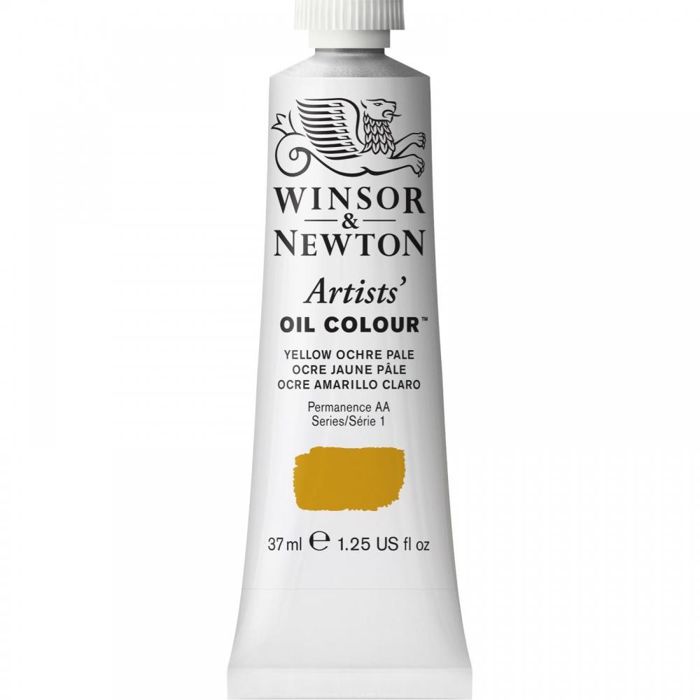 Масляная краска Winsor&Newton Artists бледно-желтая охра 37 мл