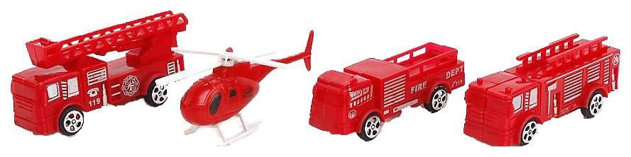 Игровой набор Пожарная станция B1366809 Красный