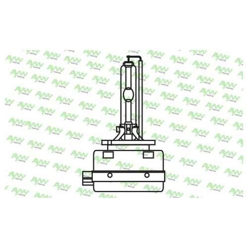 Лампа Газоразрядная D3s 12v 35w Pk32d-5 6000k AywiParts арт. AW1930020L