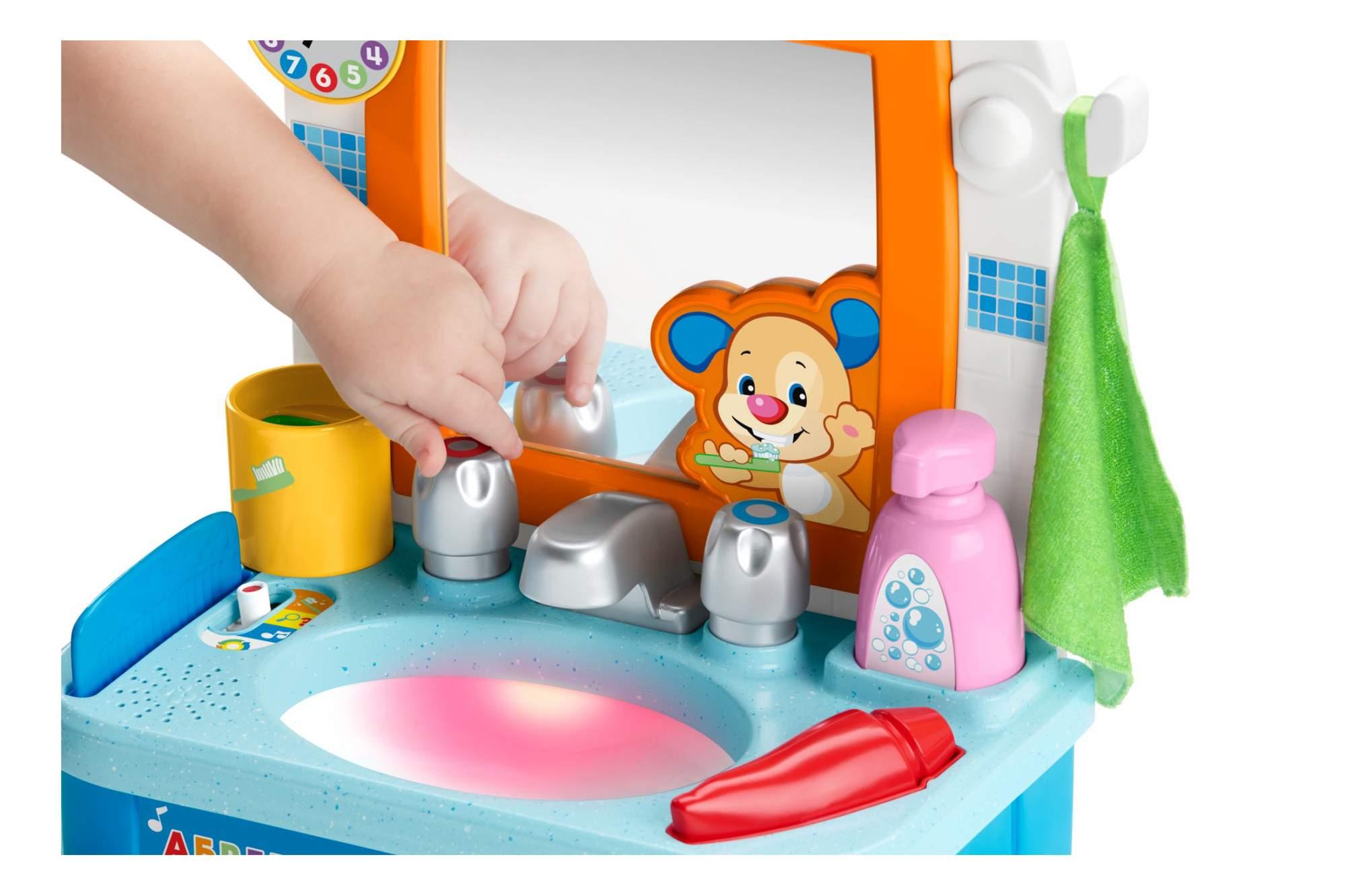 Развивающая игрушка Fisher-Price Умывальник ученого щенка