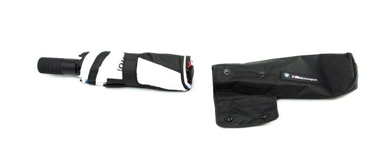 Складной зонт BMW M Motorsport Folding Umbrella, Black/White
