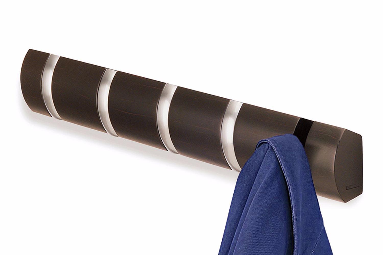Вешалка настенная Umbra Flip 5 крючков эспрессо