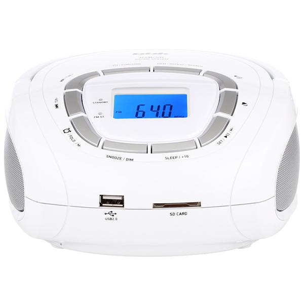 Магнитола BBK BS05 Белый серый