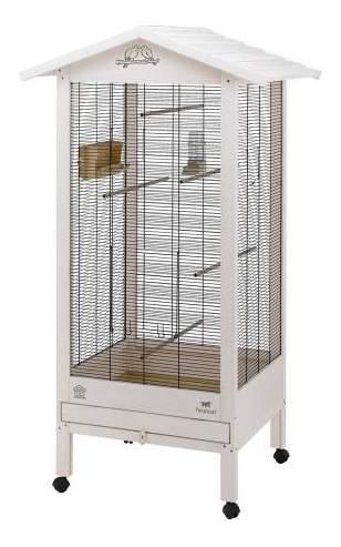 Клетка для птиц FERPLAST HEMMY деревянный 84 5x65 5x165см