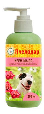 Средства для мытья лап Крем-мыло с маточным молочком, 200мл