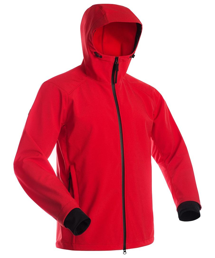 Куртка мужская Bask Sft Sarma, красная, 54 RU
