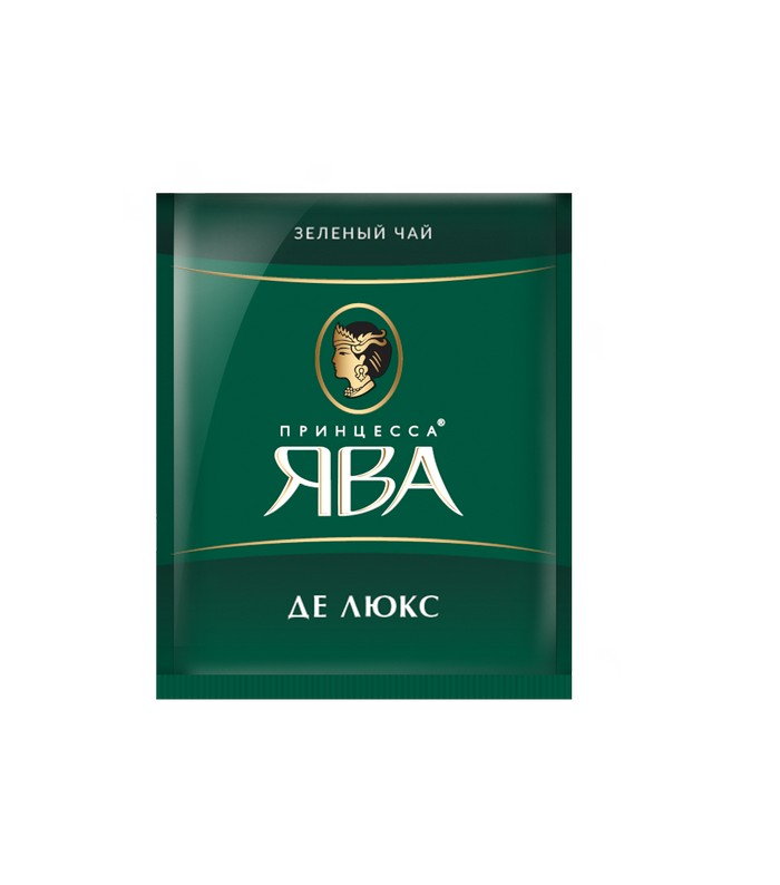 Чай зеленый Принцесса Ява Де Люкс 100 пакетиков