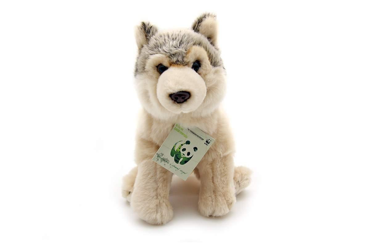 Мягкая игрушка WWF Волк 23 см