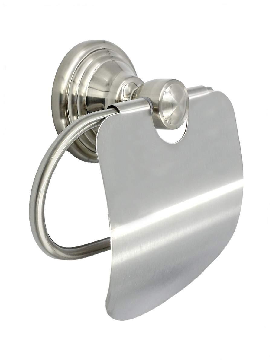 Держатель для туалетной бумаги BATH PLUS BRONX nikel BX-65710