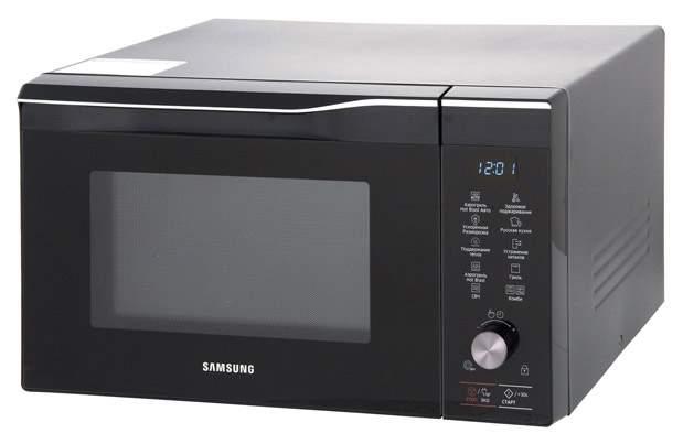 Микроволновая печь с грилем и конвекцией Samsung MC32K7055CK/BW black