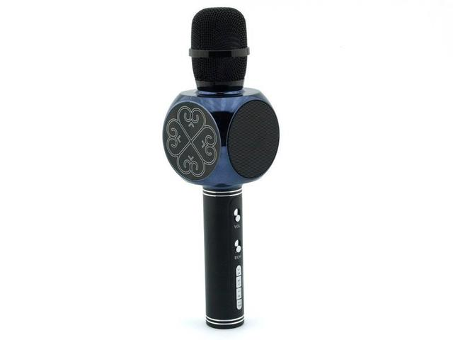 Беспроводной караоке-микрофон SY-63 Black