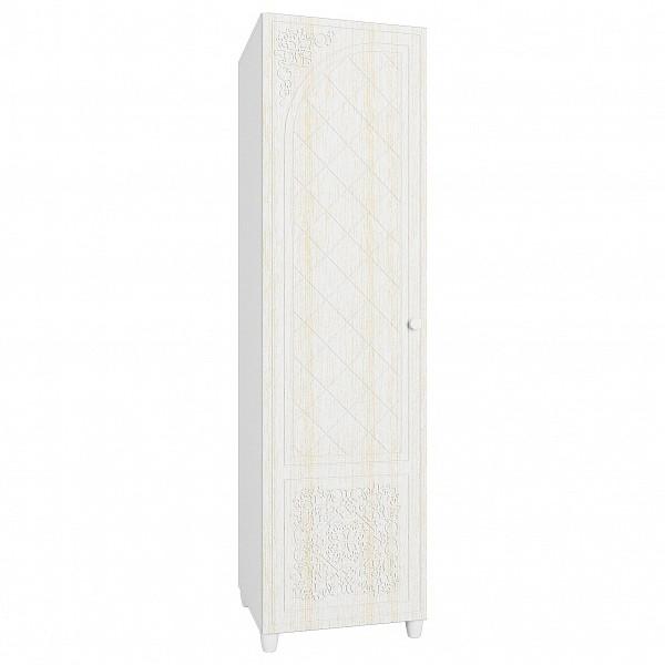 Платяной шкаф Компасс-мебель Соня премиум СО-13 55x50x200,5, белое дерево