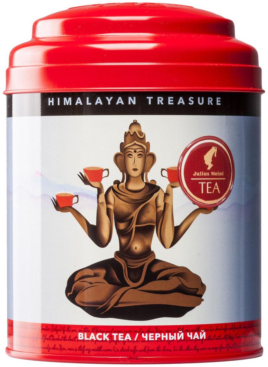 Чай черный Julius Meinl листовой  cокровище Гималаев 80 г