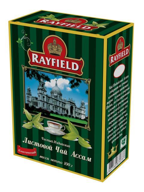Чай черный Rayfield ассам классический 100 г