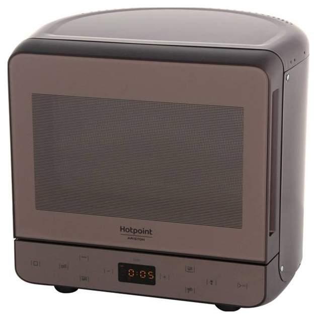 Микроволновая печь с грилем Hotpoint-Ariston MWHA 13321 NOIR brown