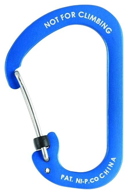 Карабин алюминиевый Nite Ize SlideLock #4 CSLA4-03-R6 Blue