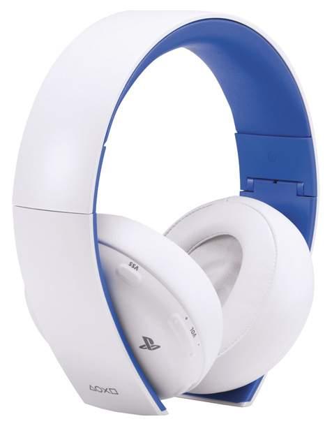 Гарнитура беспроводная Sony Gold Wireless Stereo Headset для PS4 White