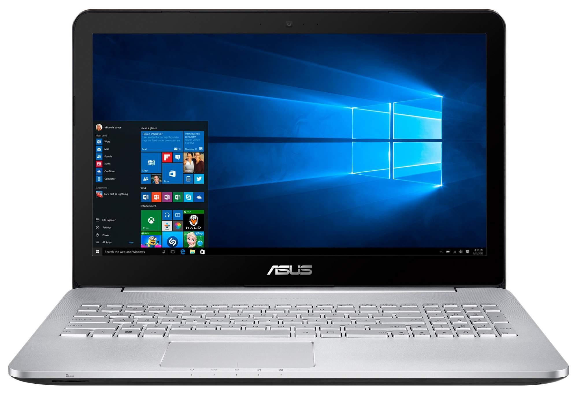 Ноутбук ASUS VivoBook N552VW-FY252T 90NB0AN1-M03140