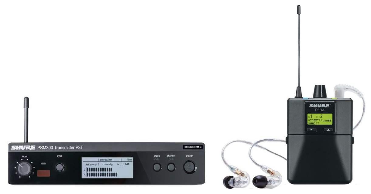 Радиосистема Shure P3TERA215CL M16