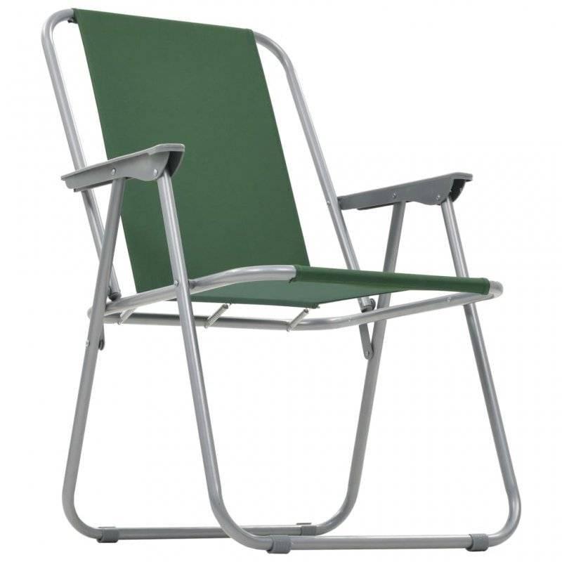 Кресло складное с подлокотниками Reka CK-305, зеленое