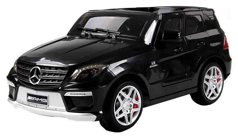 Радиоуправляемый детский электромобиль Harleybella Merсedes-Benz ML63 AMG Черный