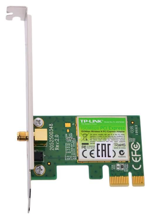 Ретранслятор Wi-Fi сигнала TP-LINK TL-WN781ND Зеленый, черный
