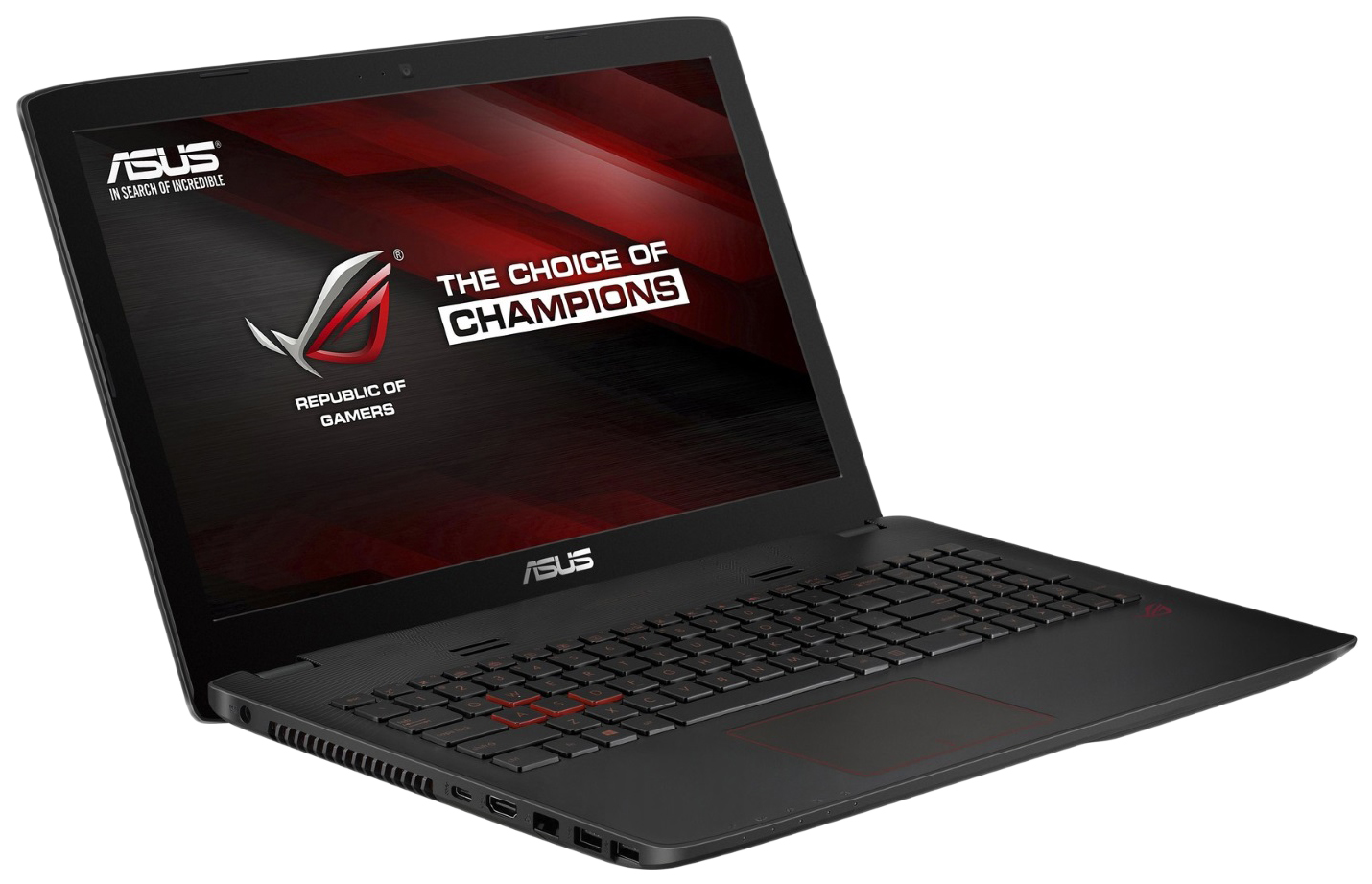 Ноутбук игровой Asus ROG GL552VW-CN926T