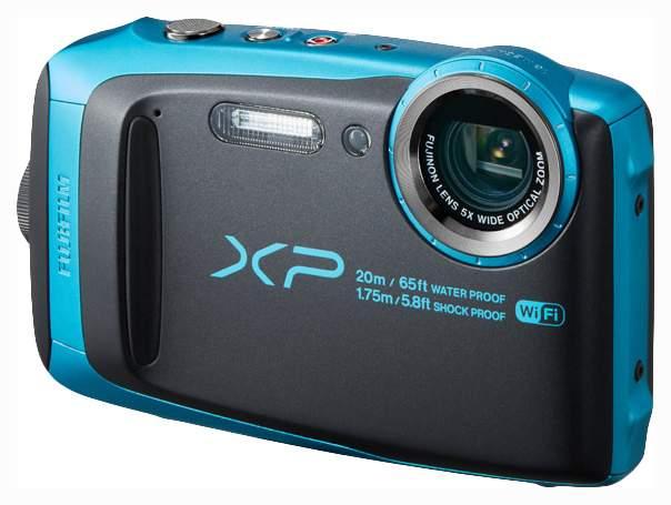 Фотоаппарат цифровой компактный Fujifilm FinePix XP120 Blue