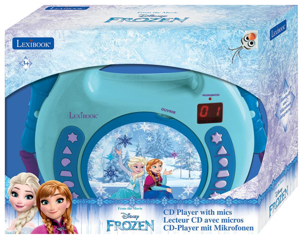 CD-проигрыватель Lexibook Холодное сердце с микрофоном RCDK100FZ